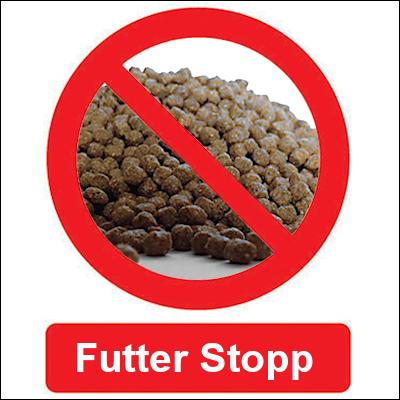 Futter-Stopp